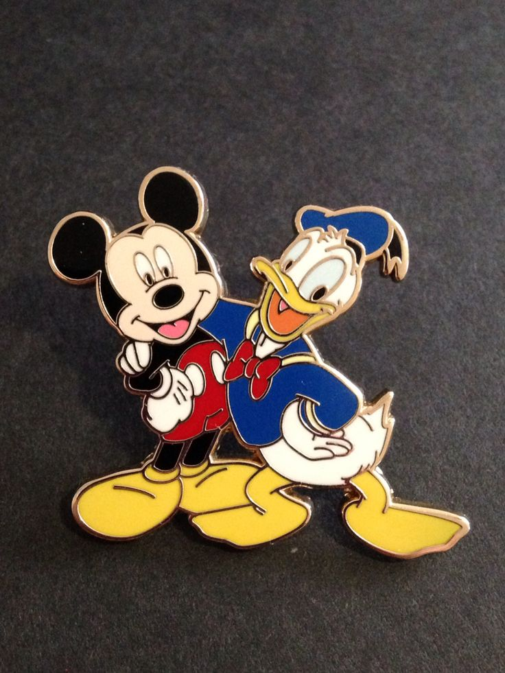 Friends are forever starter set - Mickey Mouse & Donald Duck