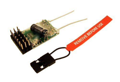 CSRC-RX3000 Spektrum DSM2 Compatible 2.4Ghz 6-Ch Receiver by Common Sense RC. $25.95. Compatible with DSM2 aircraft radio and module systems. Super lightweight 6-channel receiver weighing just 3.5 grams. Ideal for mini profile foamies, 400-size helis, and almost any small electric model. Great alternative to the Spektrum AR6100 at a low, low price!. Great replacement for E-Flite Blade CX2, CX3, and SR helis. The CSRC-RX3000 is a great alternative to the Spektrum AR6100 at a...