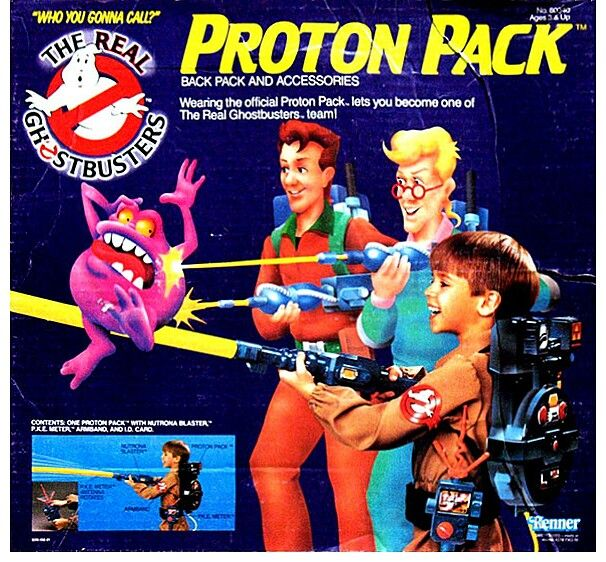 Ghostbusters Proton Pack toy, 1986