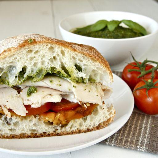 Lomo/tomate y rúcula.