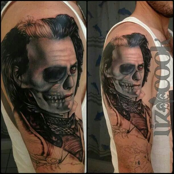 137 best great tattoo work images on pinterest for Sweeney todd tattoo