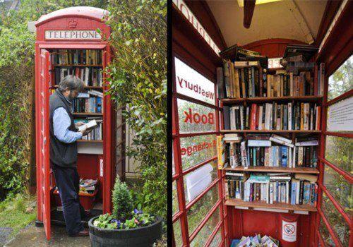 cabine livraria