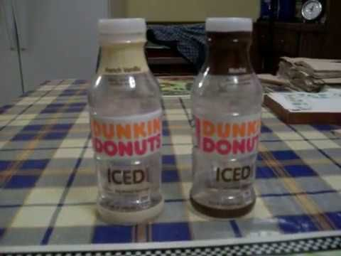Dunkin Donuts Bottled Iced Coffee Review(Mocha & French Vanilla)