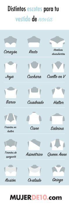Aprende a diferenciar los distintos estilos de escotes cuando vayas e elegir tu vestido de novia. Checa cuál es el …