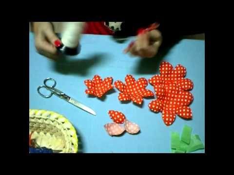 Flores flamencas - Rosa de pico - YouTube