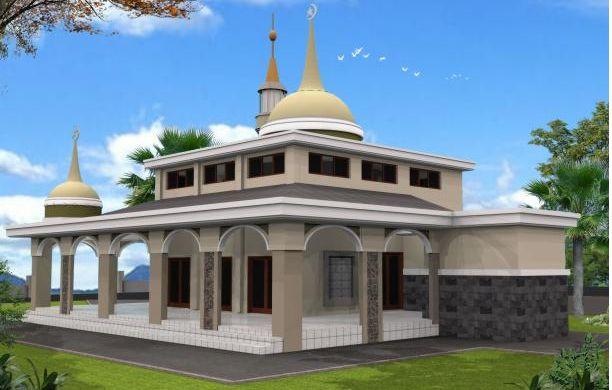 Contoh Desain Masjid Minimalis Modern Terbaru 2016 | tscribbles