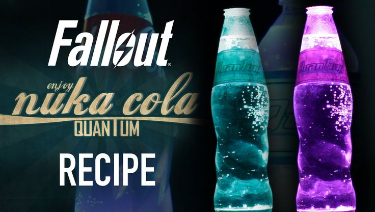 Fallout 4 Nuka Cola Quantum  |  HellthyJunkFood