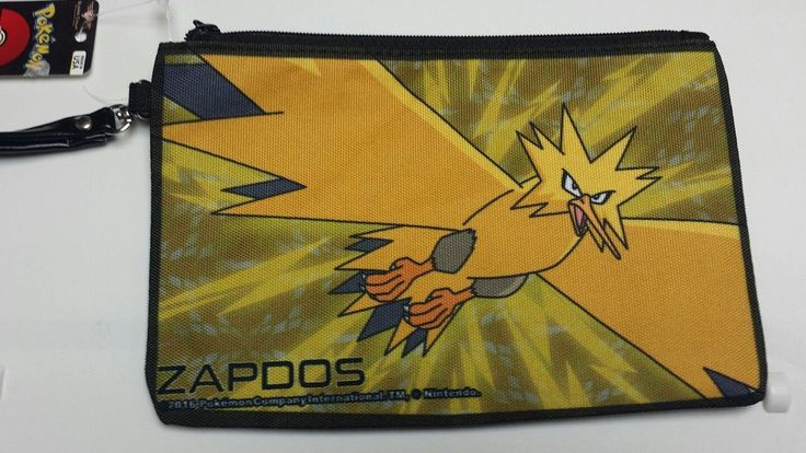 11.63$  Watch now - http://vieoa.justgood.pw/vig/item.php?t=jf7z8636721 - NEW Nintendo Pokemon ZAPDOS Large Canvas Zippered Wallet BUCKLE DOWN 2016 11.63$
