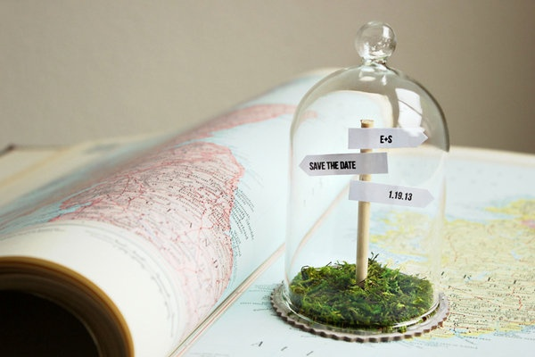 Signpost Save the Dates