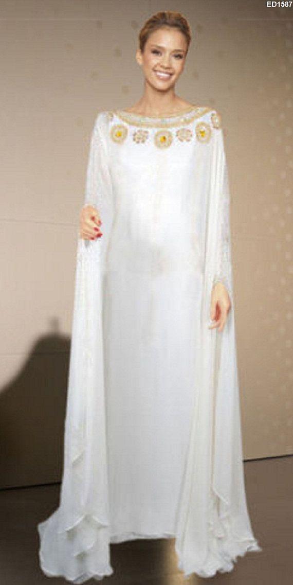Abaya maxi dress wedding gown designs
