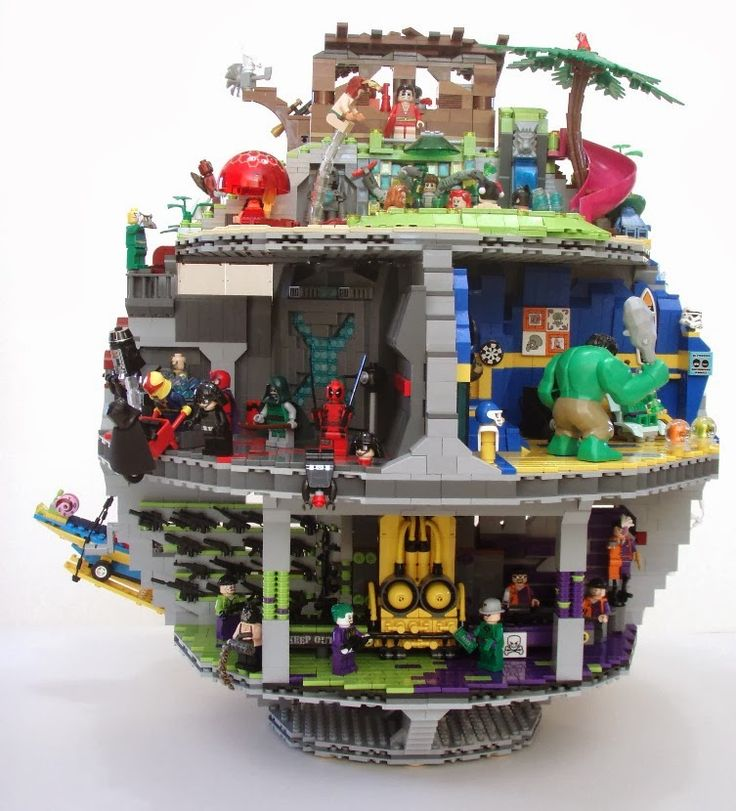 Lego structure and stuff