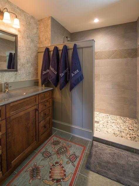 Amusing Walk In Shower Ideas For Small Bathrooms Wooden Bathroom Cabinet Vanity Mirror Wall Mounted Lighting Towel Hangers Lighting Fixtures