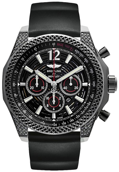 M41390AN/BC83-217S | Breitling Bentley Barnato 42 Midnight Carbon | Best Prices Online, Guaranteed Authentic and FREE Shipping at AuthenticWatches.com