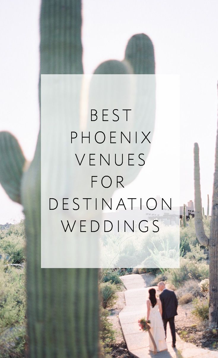 5 amazing venues with desert chic! Plus a simple, free quiz to determine if a destination wedding is right for YOU!