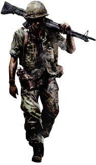 """Marine machine gunner, Vietnam"" pin by Paolo Marzioli"