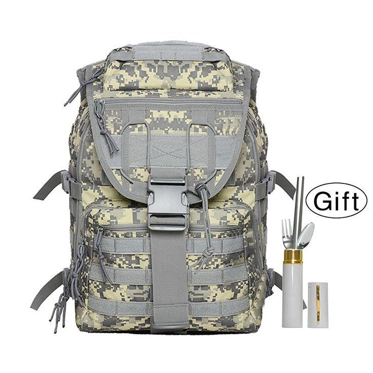 Backpack for Camping, Kollerpek Waterproof Outdoor Camping Backpack for Hiking   Free Dinning Tool ** Review more details here : Best hiking backpack