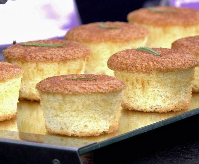 Cupcake de Lavanda   Tortas e bolos > Cupcakes   Mais Você - Receitas Gshow