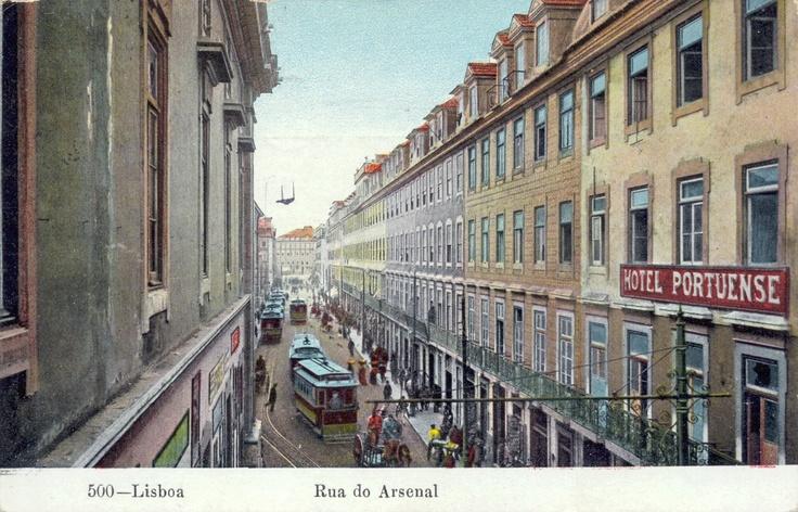 Rua Do Arsenal #Lisbon