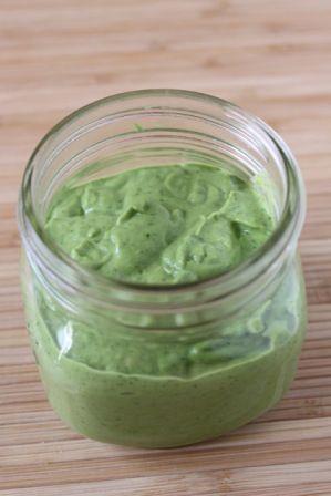 Green goddess dip