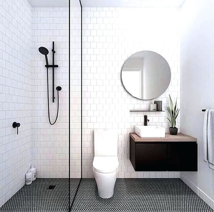 Modern Black And White Bathroom Ideas Simple Bathroom Bathroom Design Small Small Bathroom Remodel