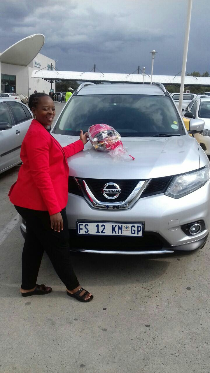 #Congratulations to Mrs Kubeka from #vereeniging on her #Nissan #XTrail 2.5 #CVT #4X4 Wishing you many happy miles!   Contact me for all your #new #used #preowned #demo #cars #bakkies #sedans #hatchbacks #SUV #Coupe ALL MAKES AND MODELS! I have over 1,500  available in our group!   I #deliver across SA!   0828858780 aadil.khan@supergrp.com www.edenvalenissan.co.za  www.deviantdealer.co.za  #Gauteng  #GP #Edenvale #Southafrica