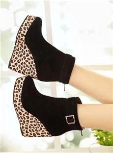 43 best wedge boot heels images on Pinterest
