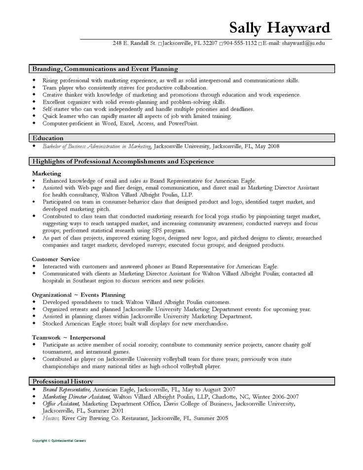 Resume Template Volunteer Work You Will Never Believe