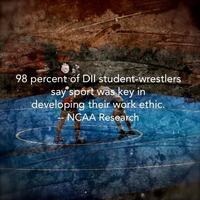 That's why wrestling is important beyond the mat