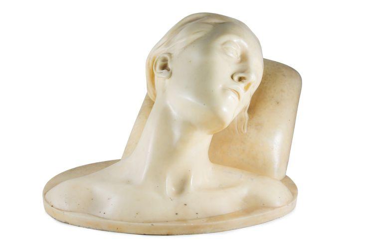 Francesco Wildt (1896-1931), Giovane dormiente (credits Andrea Satta)