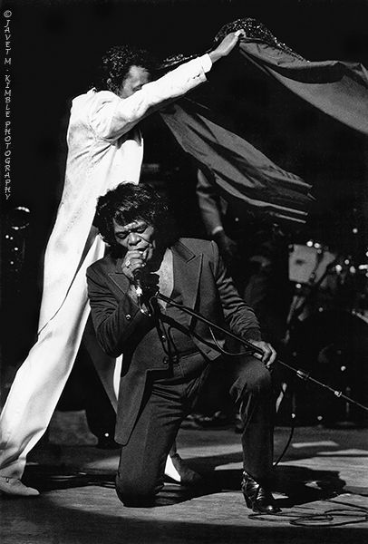 R & B Legend James Brown performing in Chicago after his release from prison in the 80's.♫♫♥♥♫♫♥JML