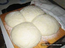 Tijesto za pecivo (1kg brašna, 1 germa, 2 jaja, 1 jogurt)