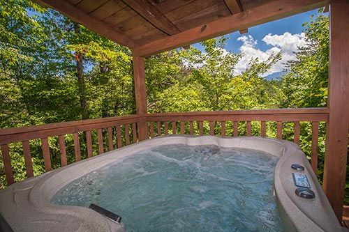 Lover's View in Gatlinburg, Tennessee: Hot Tub