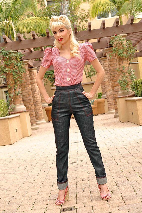 roslyn jeans marilyn monroe the misfits pinup by nicolekatherine denim pinupjeans. Black Bedroom Furniture Sets. Home Design Ideas
