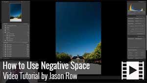 Jason Row explains the Compositional technique, Negative Space