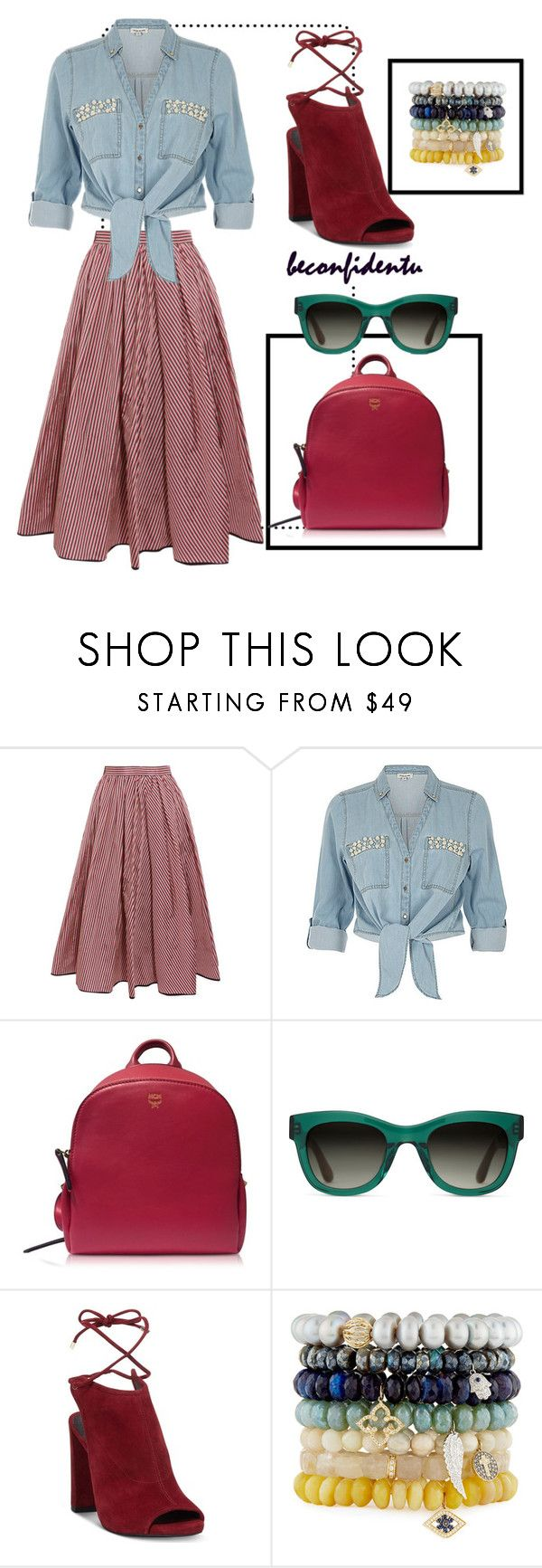 """""""Match Made"""" by beconfidentu on Polyvore featuring Tome, ZAK, MCM, TOMS, Kenneth Cole and Sydney Evan"""