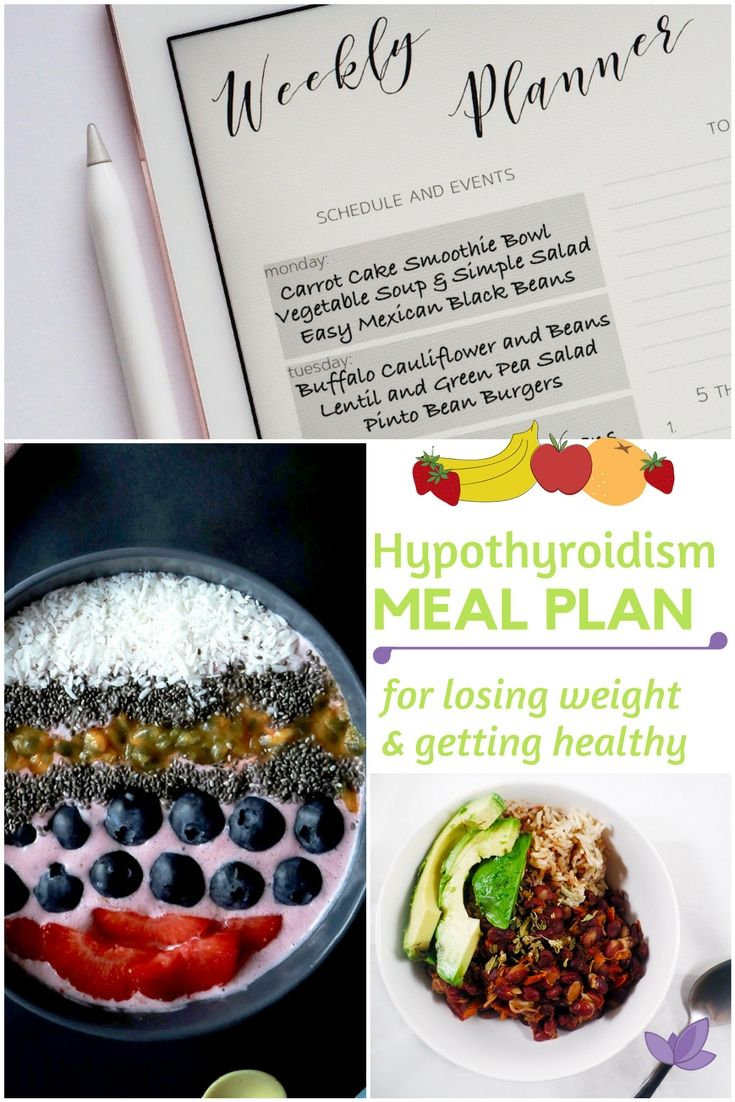 Thyroid Diet Plan For Weight Loss Pdf