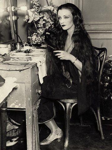 Natacha Rambova or Madame Valentino wife of the handsome Rudolph Valentino.