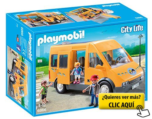 Playmobil Colegio - Autobús escolar (6866) #playmovil