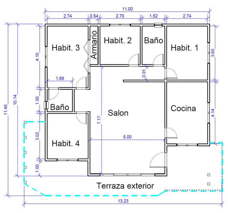 Plano 2 Casa de Madera Madrid