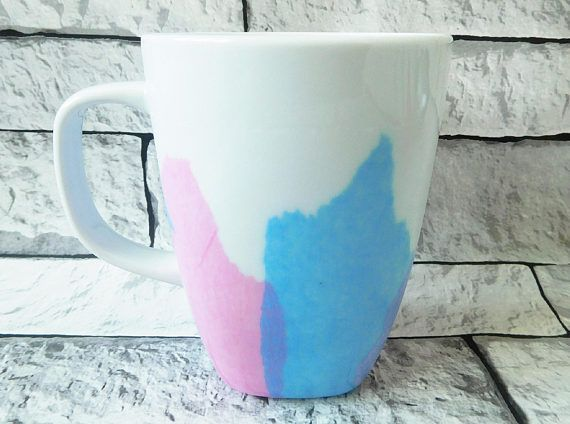 Pastel mug  spring mug  colourful mug  coffee mug  tea mug