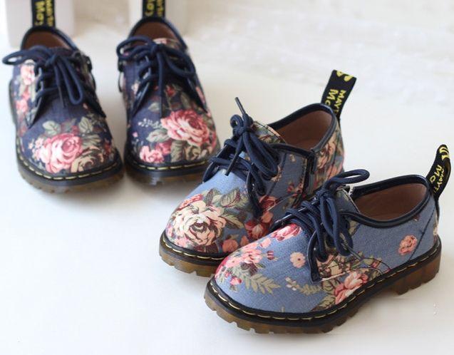 Girls Shoes 2014 Children Korean Canvas Sneakers For Kids Girls Boys Flower  Denim Fashion Brand Kid