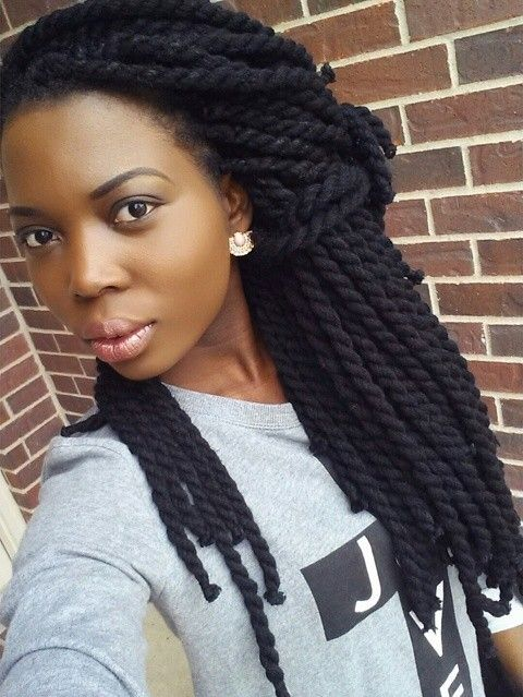 Very healthy Braids and pretty as well Beautiful skin