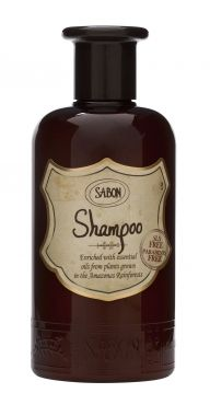 Sabon Shampoo; De natuurlijke olien afkomstig uit de Amazone zorgen voor zijdezacht haar en laten een beschermend laagje achter.
