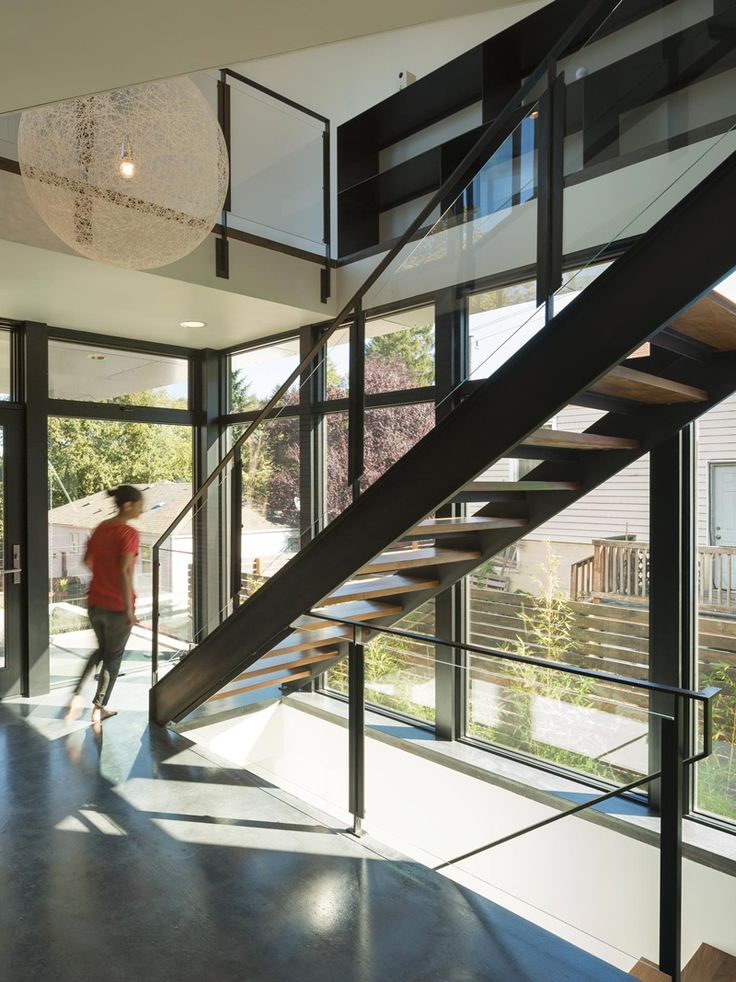 Stair Inspiration From A New Home For A Family In Seattle, Washington
