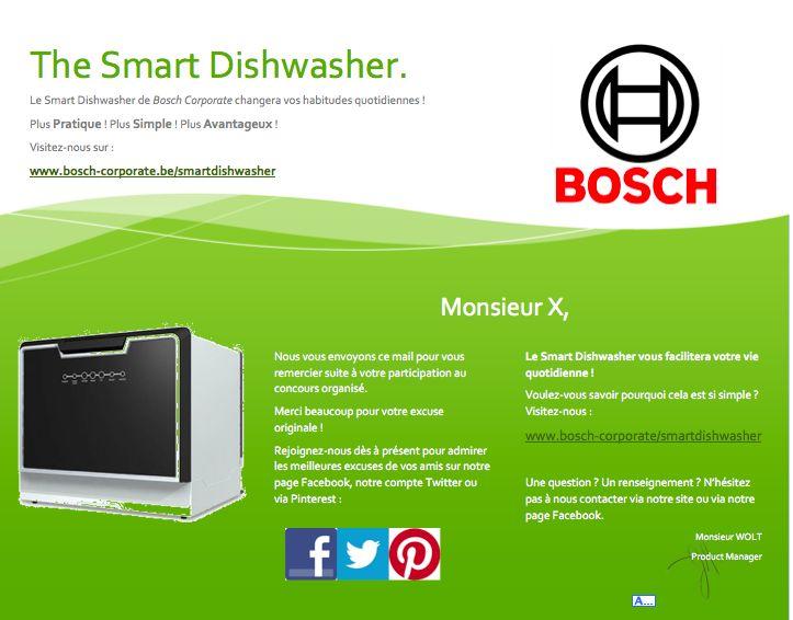 Nouveau type de lave-vaisselle portatif