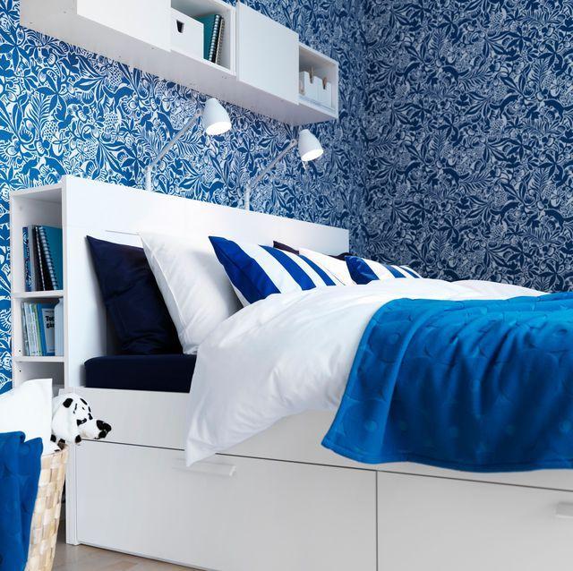54 best La déco bleu marine a la cote ! images on Pinterest - chambre bleu gris blanc