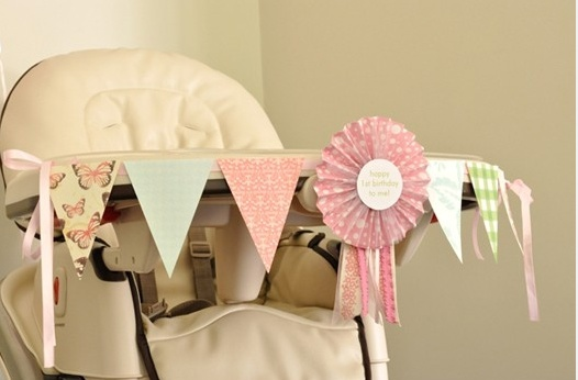 Fun way to decorate for a first birthday