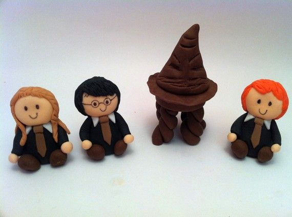 harry potter cake topper sorting hat fondant cake topper harry potter cake 4731