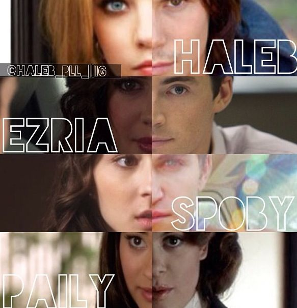 haleb ezria spoby and paily | pll. | Pinterest | Maya, So ...