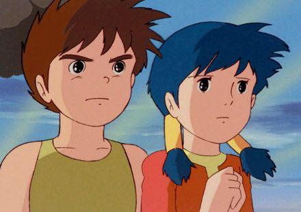 未来少年コナン - Conan and Lana